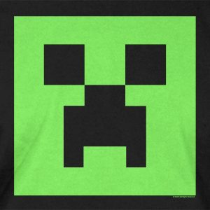 Minecraft Creeper Glow in the dark face