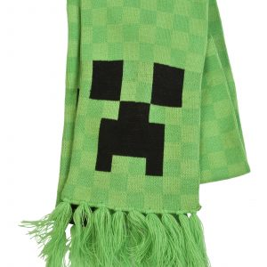 Minecraft Creeper Halstørklæde
