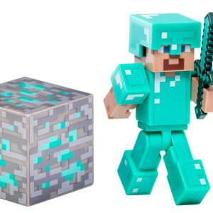 Minecraft Steve Diamond Action Figur